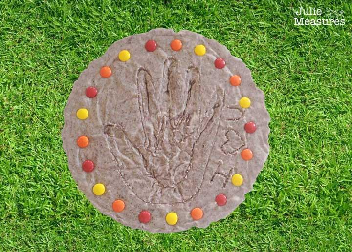 Cookies and Cream Fudge Edible Garden Stone