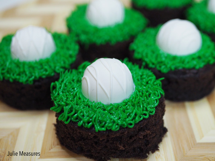Hole In One Golf Brownies