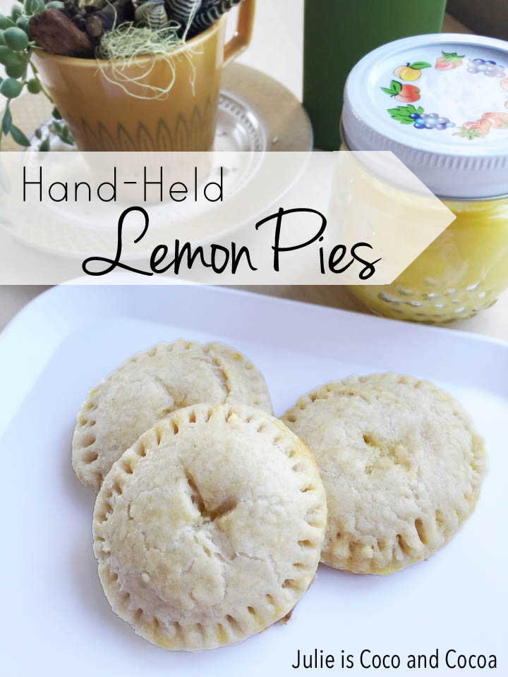 Hand-held Lemon Pies