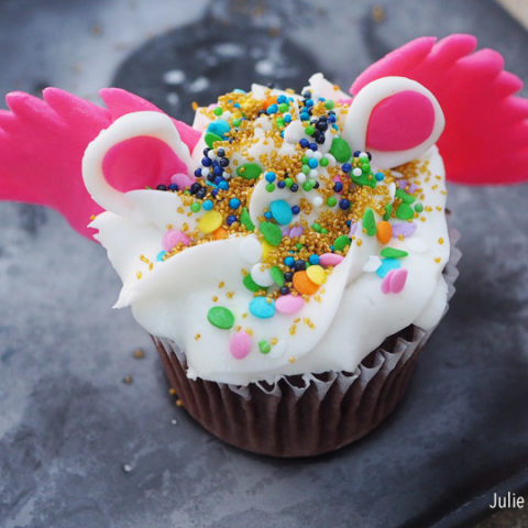 Pegasus Cupcakes
