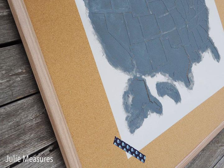Painted Corkboard
