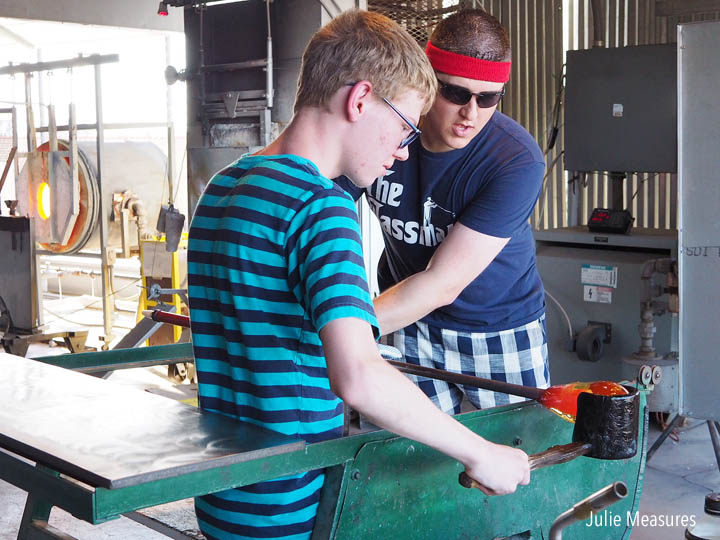 Glass Blowing – Checking Off a Bucket List Experience in Wichita