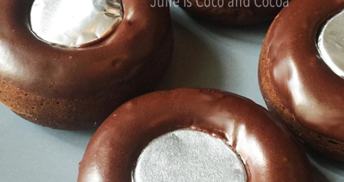 Road Trip Spare Tire Chocolate Cake Donuts