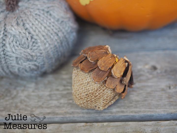 DIY Fall Acorns