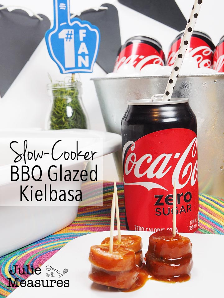 Slow-cooker BBQ Glazed Kielbasa