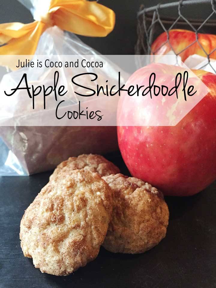 Apple Snickerdoodle Cookies are the Perfect Fall Cookie