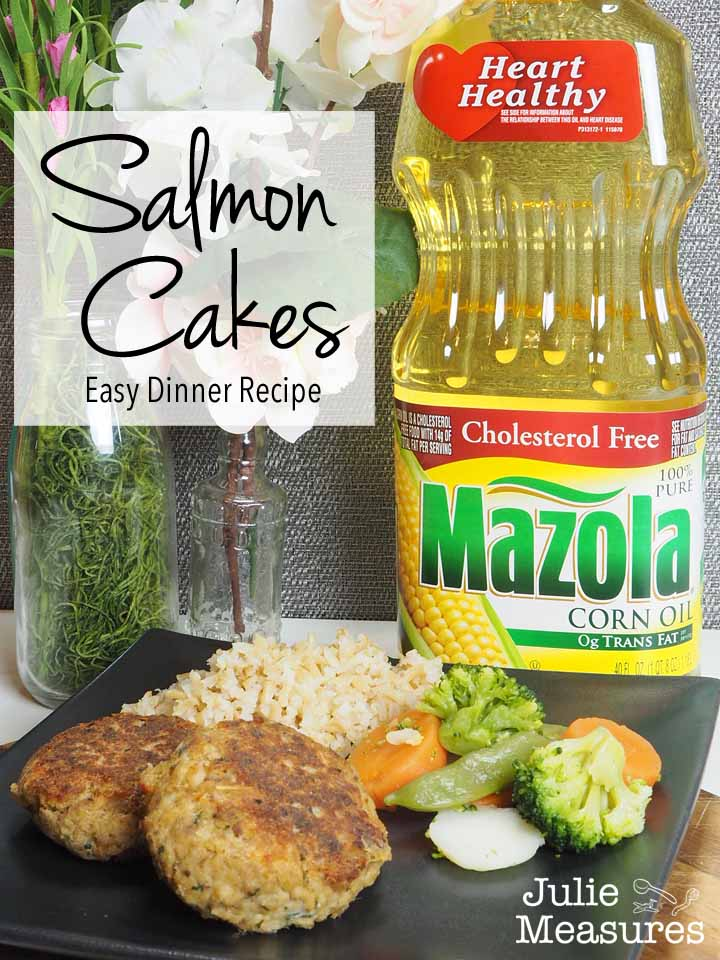 Salmon Cakes Easy Dinner Recipe