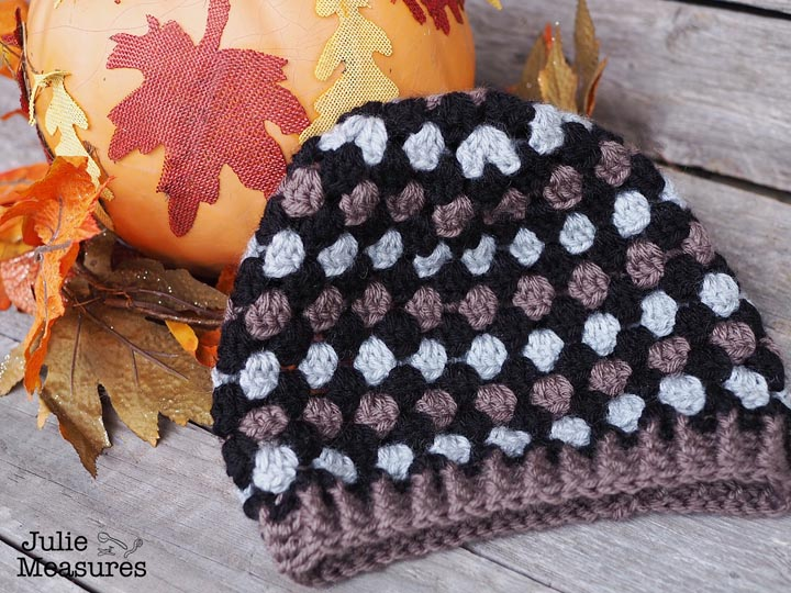 Granny Stitch Hat Pattern