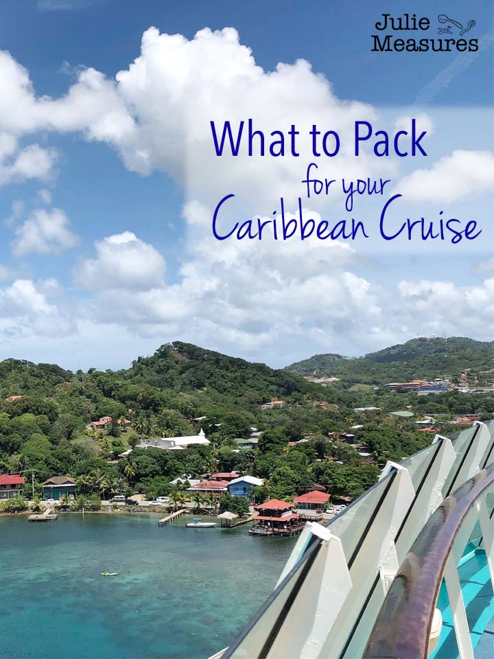How to pack for your Caribbean Cruise