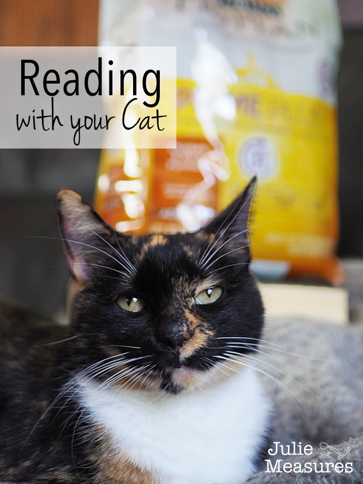 Reading with your cat