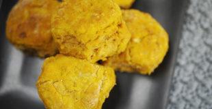 Savory Fluffy Pumpkin Biscuits