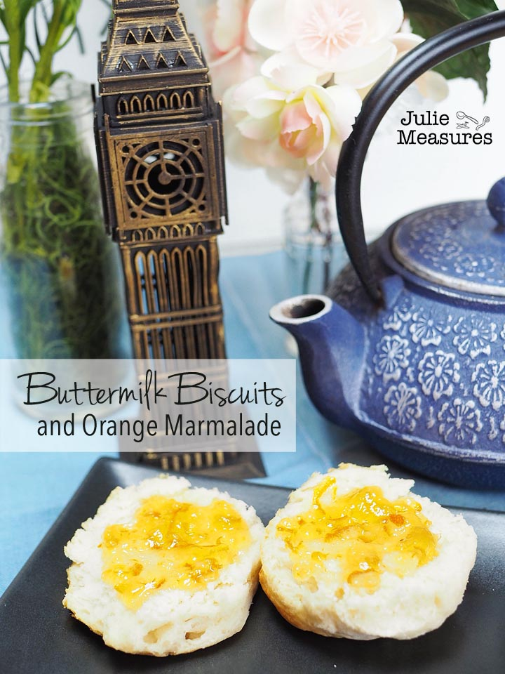 Buttermilk Biscuits and Orange Marmalade