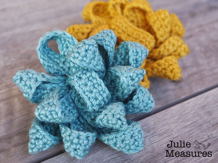 Crochet Gift Bow Pattern