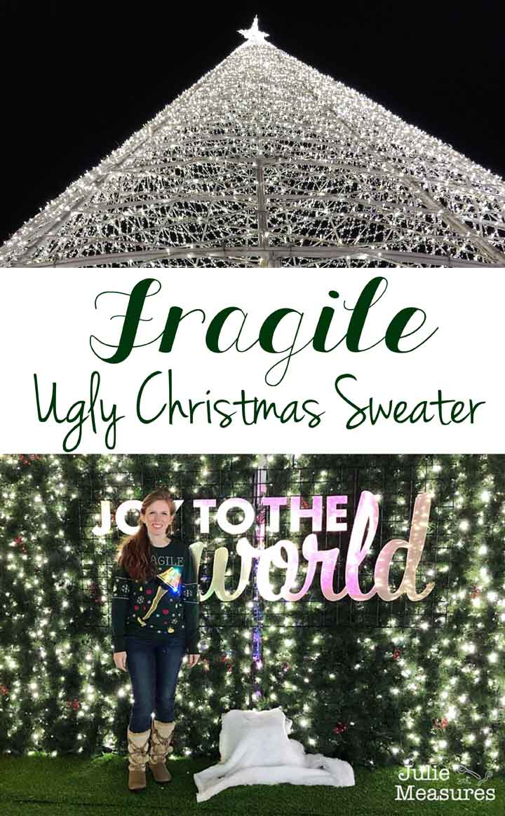 Fragile Ugly Christmas Sweater