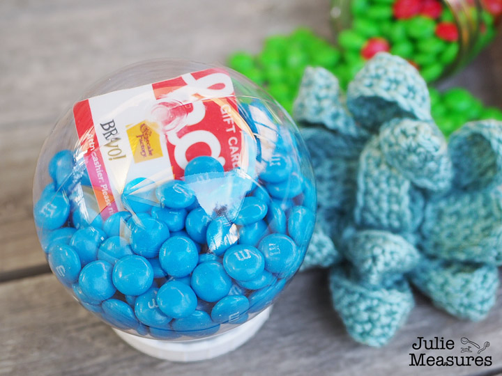 Crochet Gift Bow Pattern