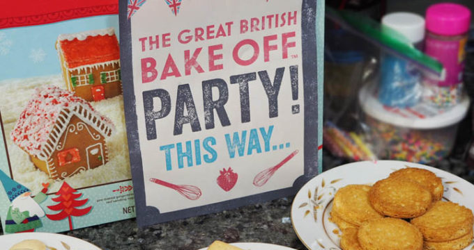 How to Host a Great British Bake Off Kids Birthday Party
