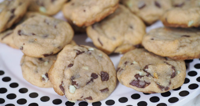 Mint Chocolate Chip Cookies are a new Holiday Classic