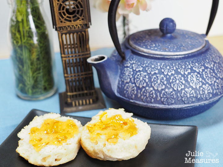 Buttermilk Biscuits and Orange Marmalade