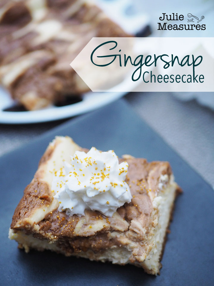 Gingersnap Cheesecake