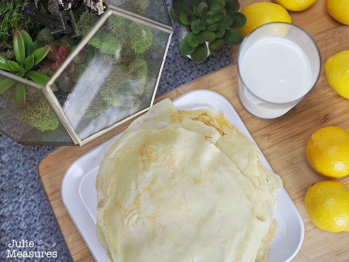 Homemade Crepes Recipe