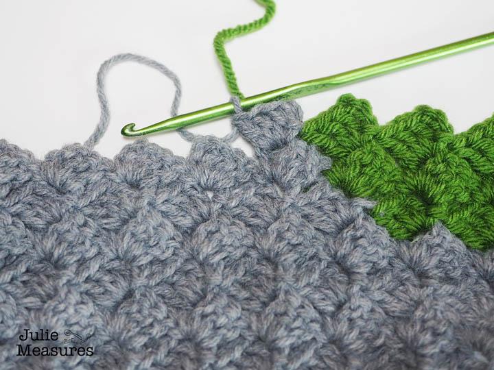 How To Corner To Corner Crochet Julie Measures
