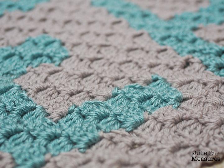 C2C Crochet Placemat EAT