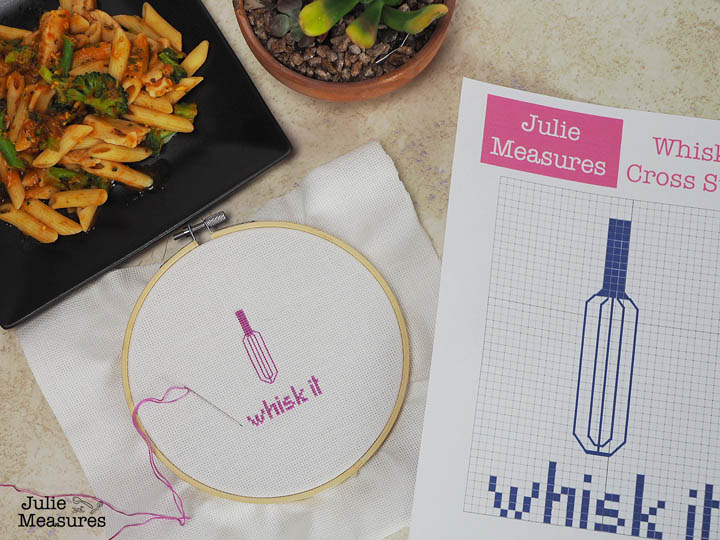 Whisk Cross Stitch