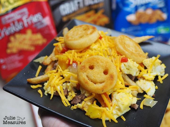 loaded potato breakfast bar