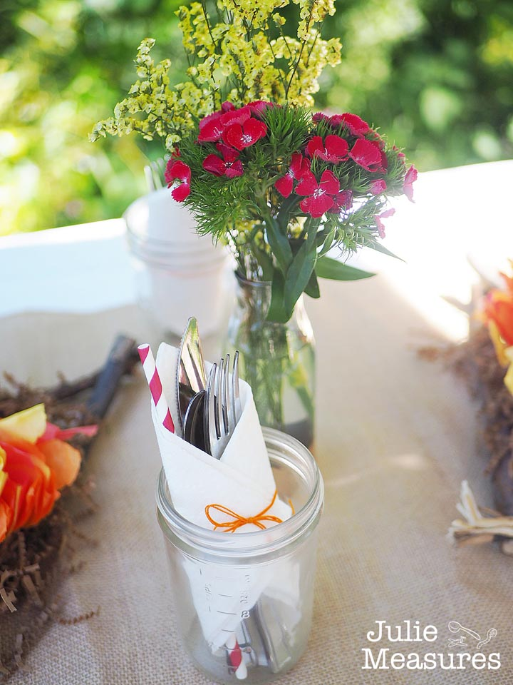 Campfire Party Tablescape