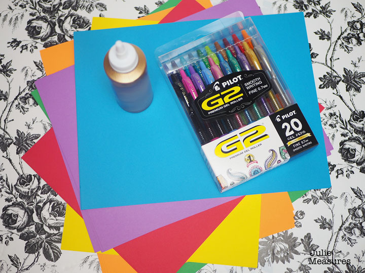 Make Your Own Custom Notepads - Julie Measures