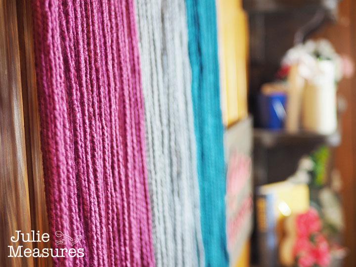 DIY Yarn Hanging