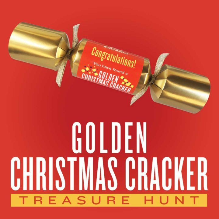 Golden Christmas Cracker World Market