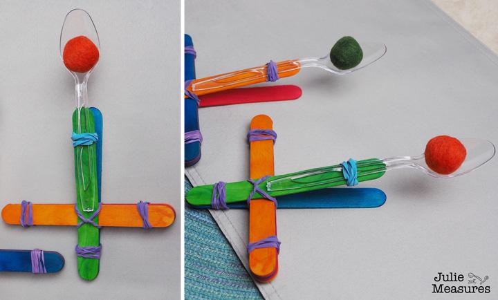 DIY Popsicle Catapult