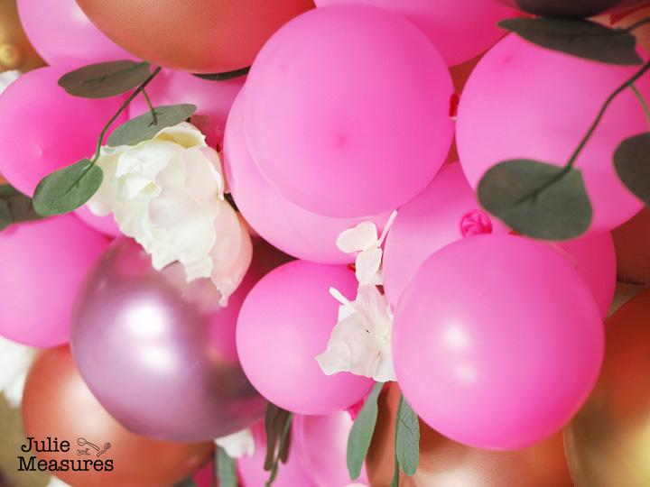 balloon heart valentine backdrop