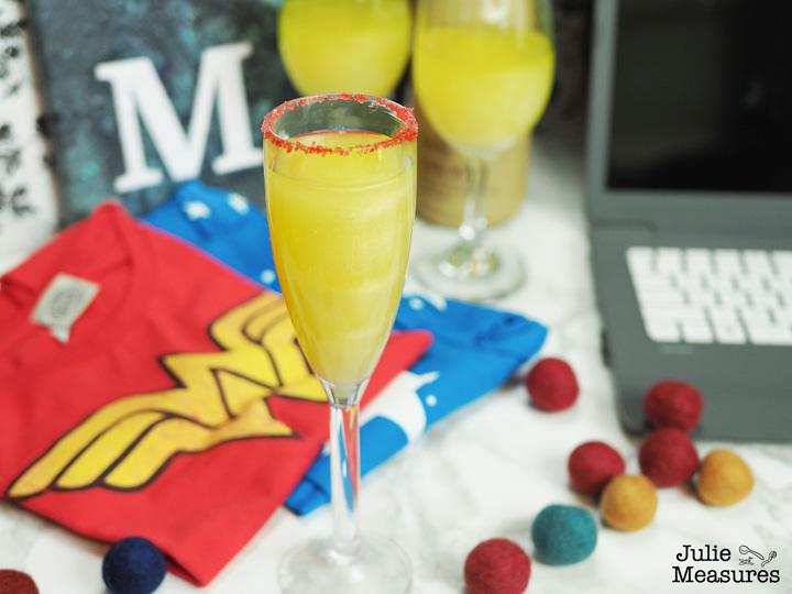 Wonder Woman Gold Lasso Drink