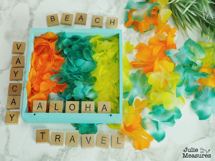 shadow box craft aloha