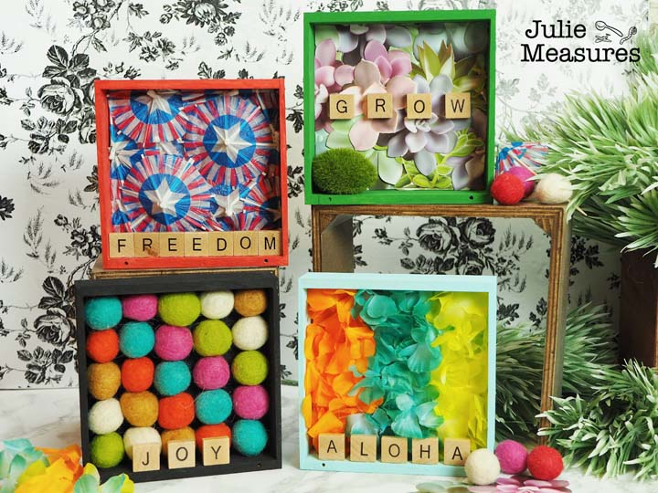 shadow box inspiration crafts