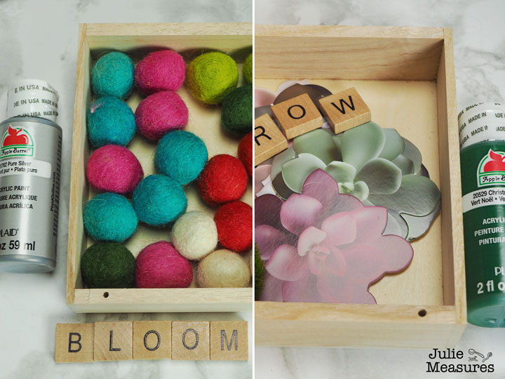 shadow box word crafts
