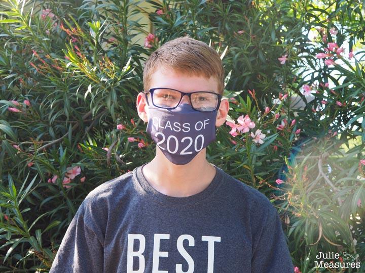 graduation cloth mask