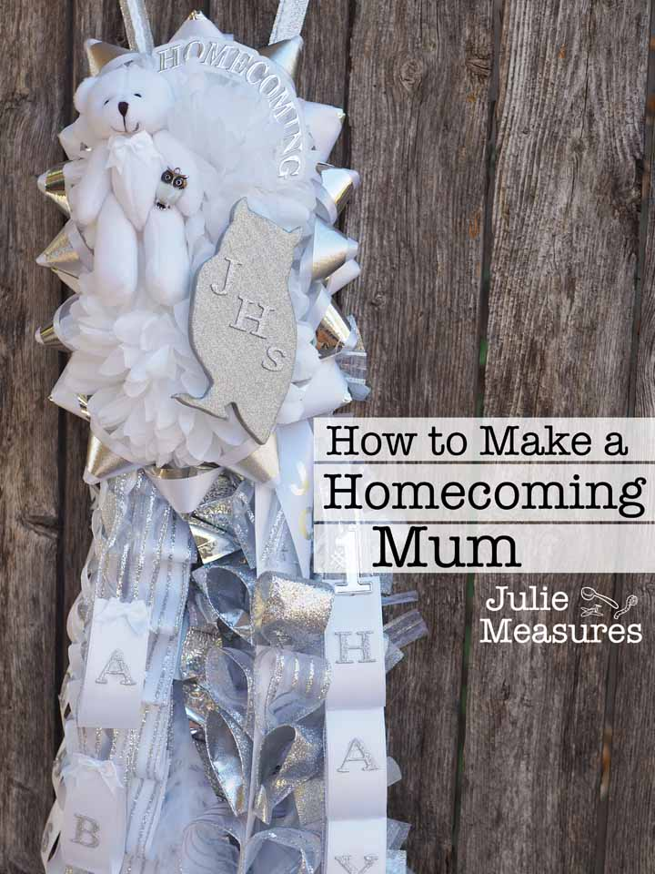 DIY Homecoming Mum