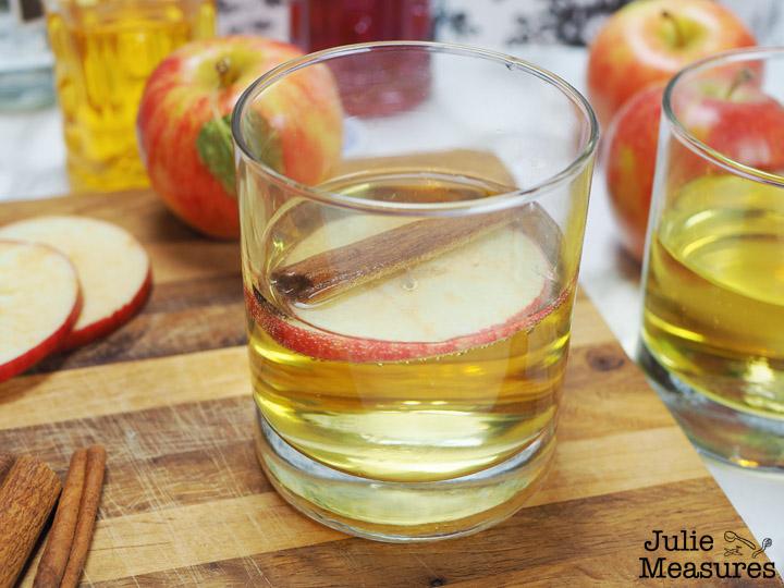 Spiced Apple Cider Mocktail