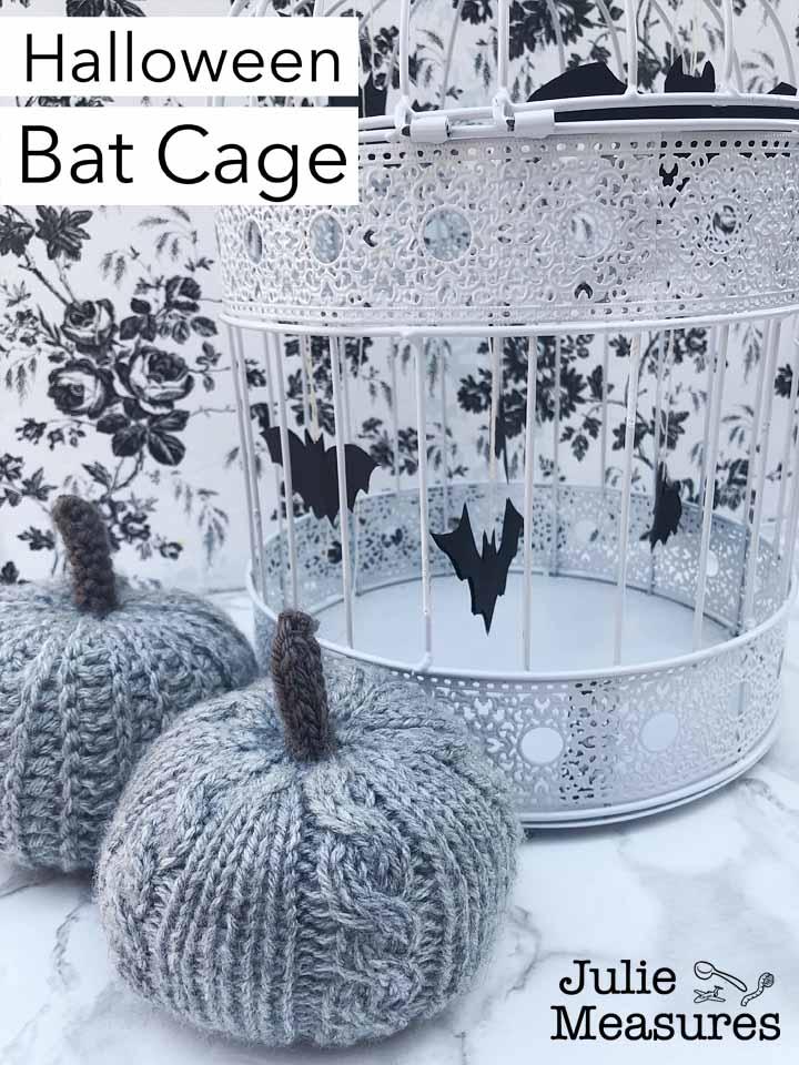 Halloween Bat Cage
