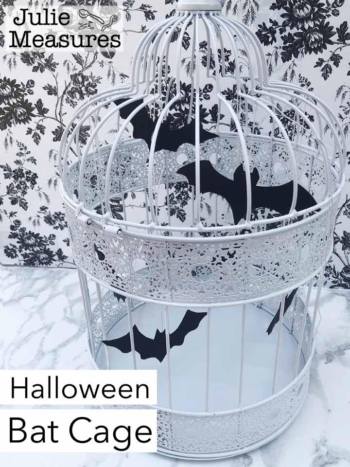 DIY Halloween Bat Cage
