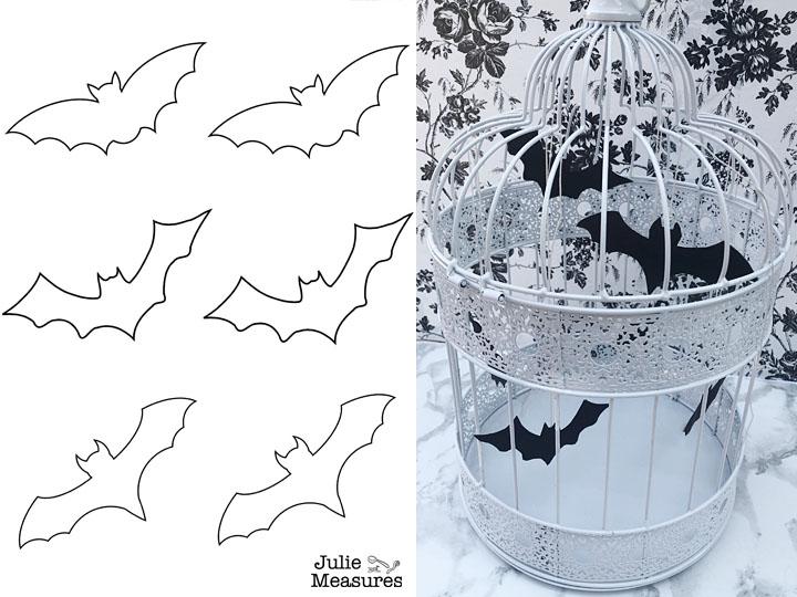 Halloween Bat Outlines