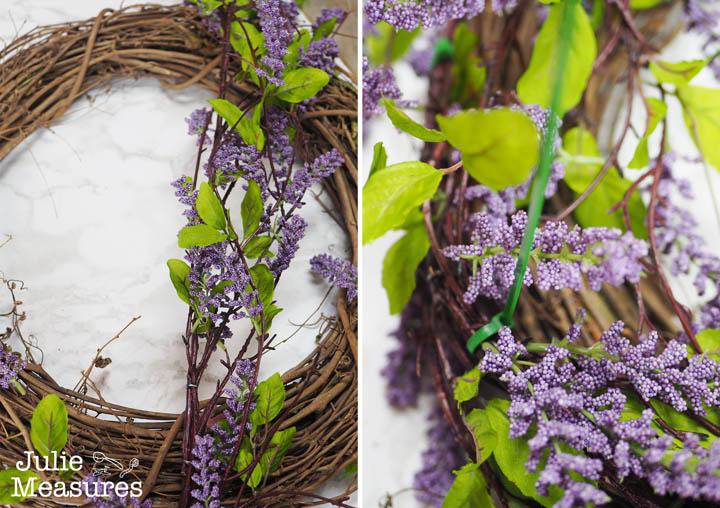 Lavender Wreath DIY