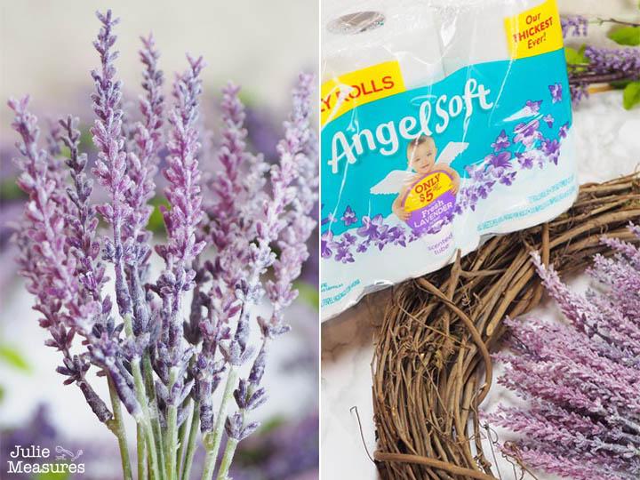 DIY Lavender Wreath