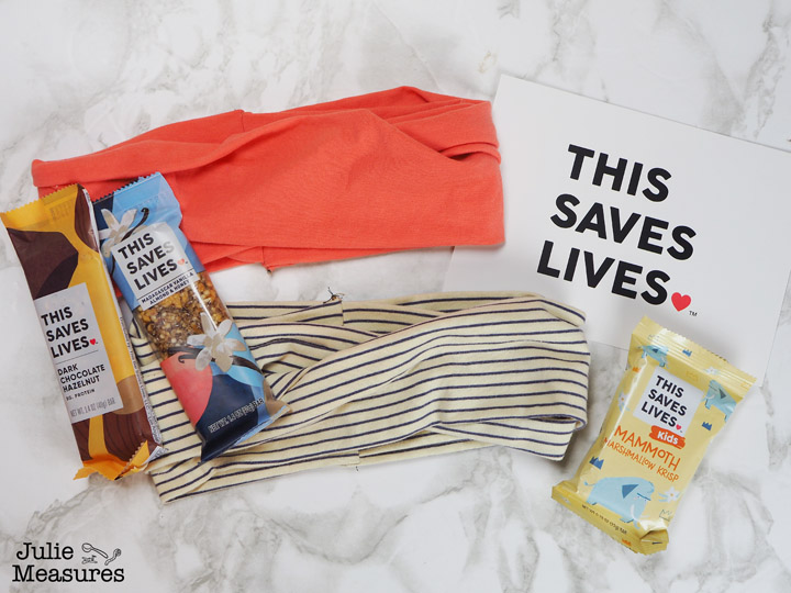 This Saves Lives Knit Jersey Tshirt Headbands