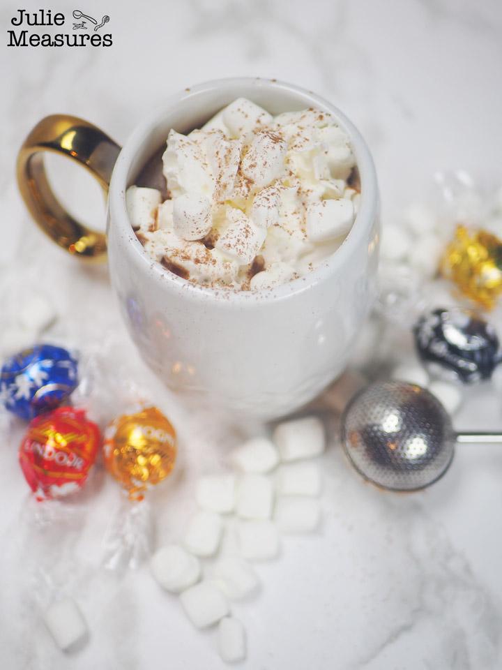 easiest hot chocolate bombs