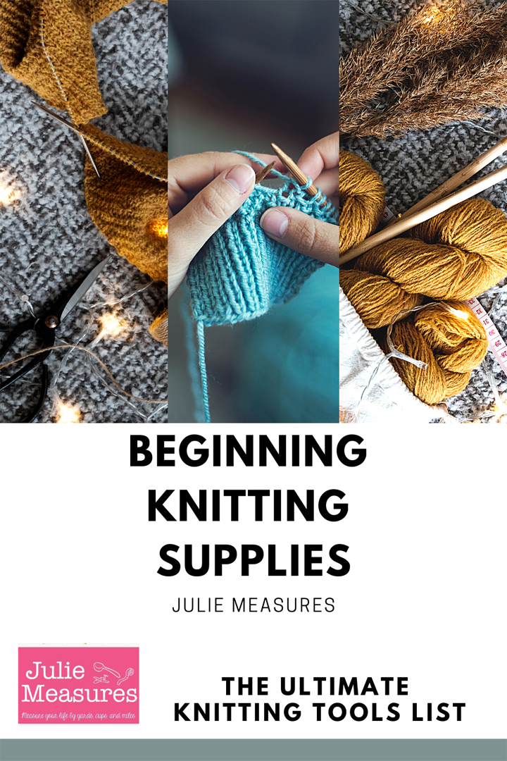 beginning knitting supplies