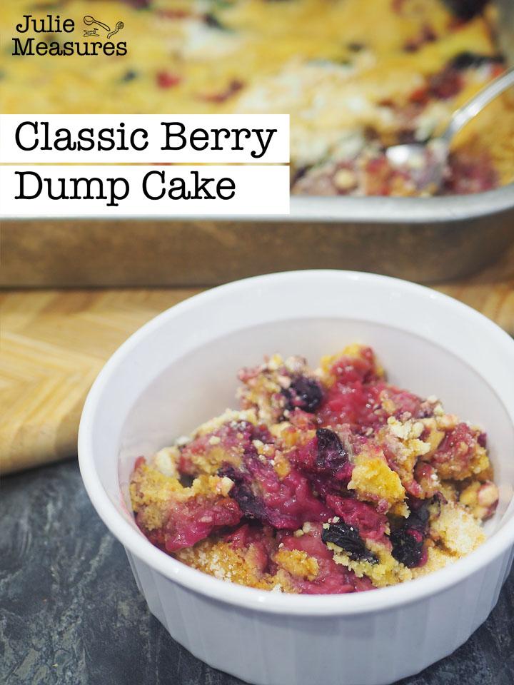 classic dump cake